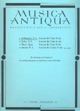 Franz Anton Hoffmeister - Konzert for Viola D-Dur - Sheet Music - di-arezzo.co.uk