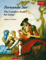 Complete Studies For Guitar SOR Partition Guitare - laflutedepan