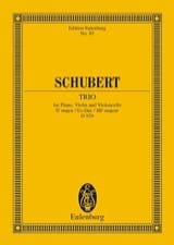 SCHUBERT - Trio in E Major B Op. 100 D 929 - Sheet Music - di-arezzo.co.uk