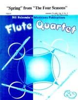 Spring from The Four Seasons - Flute quartet VIVALDI laflutedepan.com