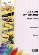 Joseph Haydn - 6 Duos concertants - Partition - di-arezzo.fr