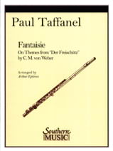 Paul Taffanel - Fantaisie on themes from Der Freischütz - Partition - di-arezzo.fr