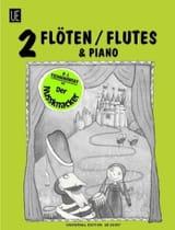 Der Nussknacker -2 Flöten Klavier TCHAIKOVSKY laflutedepan.com