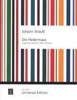 Johann (Fils) Strauss - Die Fledermaus –2 Flöten Klavier - Partition - di-arezzo.fr
