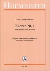 Kontrabass-Konzert n° 1 Franz Anton Hoffmeister laflutedepan.com