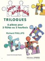 Trilogues Richard Phillips Partition laflutedepan.com