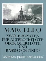 Benedetto Marcello - 12 Sonaten op. 2 - Bd. 2 - Altblockflöte Flöte und Bc - Sheet Music - di-arezzo.co.uk