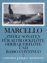 Benedetto Marcello - 12 Sonaten op. 2 - Bd. 4 - Altblockflöte o. Flöte und Bc - Sheet Music - di-arezzo.co.uk
