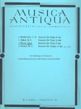 Konzert für Viola D-dur op. 31 Ignaz Pleyel Partition laflutedepan.com