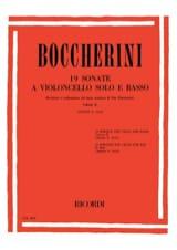 19 Sonates, Volume 2 (G. 10-19) - Luigi Boccherini - laflutedepan.com