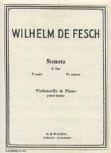 Sonata F Dur - Willem de Fesch - Partition - laflutedepan.com