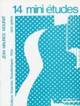 Jean-Maurice Mourat - 14 Mini Etudes - Partition - di-arezzo.fr