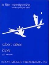 Icicle - Flûte seule Robert Aitken Partition laflutedepan.com