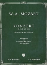 MOZART - Konzert A-Hard KV 622 - Sheet Music - di-arezzo.co.uk
