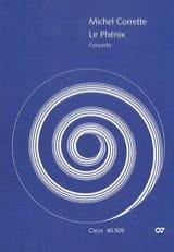 Concerto Le Phénix - Partitur - Michel Corrette - laflutedepan.com