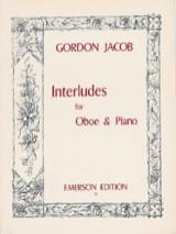 Gordon Jacob - Interludes - Partition - di-arezzo.fr