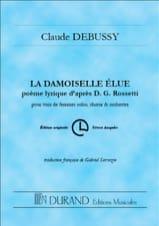 La Damoiselle Elue, Poème Lyrique D'après D.G. Rossetti laflutedepan.com