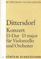 Konzert D-Dur für Violoncello - Partitur laflutedepan.com