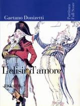 L'elisir d'amore – Score Gaetano Donizetti Partition laflutedepan.com