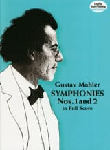 Gustav Mahler - Symphony No. 1 and 2 - Full Score - Sheet Music - di-arezzo.com