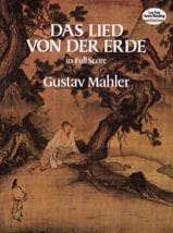 Gustav Mahler - Das Lied von der Erde - Full Score - Sheet Music - di-arezzo.co.uk