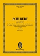 SCHUBERT - Quintett A-Dur The MD667 - Trout - Sheet Music - di-arezzo.co.uk
