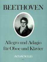 BEETHOVEN - Allegro und Adagio - Oboe Klavier - Sheet Music - di-arezzo.com