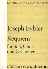 Joseph Eybler - Requiem - Partitur - Partition - di-arezzo.fr