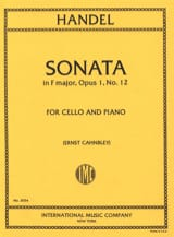 Sonata in F major op. 1 n° 12 - laflutedepan.com