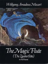 The Magic Flute - Score MOZART Partition Grand format - laflutedepan