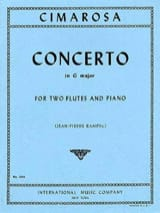 Concerto in G major - 2 Flutes piano laflutedepan.com
