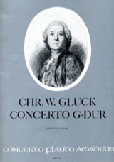 GLUCK - Concerto G-Dur - Flute and Orchester - Sheet Music - di-arezzo.co.uk