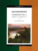 Symphonie N°2 - Conducteur RACHMANINOV Partition laflutedepan.com