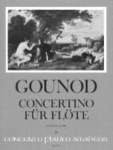 Charles Gounod - Concertino - Flûte et orchestre - Partition - di-arezzo.fr