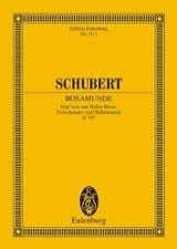 Rosamunde, op. 26 (D 797) Franz Schubert Partition laflutedepan.com