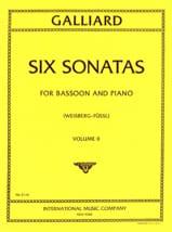 6 Sonatas - Volume 2 –Bassoon piano - laflutedepan.com