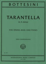 Tarantella in A minor BOTTESINI Partition Contrebasse - laflutedepan