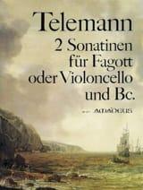 TELEMANN - 2 Sonatinen - Partition - di-arezzo.fr
