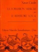 Xavier Givelet - La FM par le répertoire vocal – Volume 1 - Partition - di-arezzo.fr