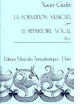 La FM par le répertoire vocal - Volume 3 Xavier Givelet laflutedepan