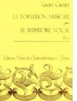 Xavier Givelet - La FM par le répertoire vocal – Volume 4 - Partition - di-arezzo.fr