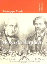 Messa di Requiem - Partitur VERDI Partition laflutedepan.com