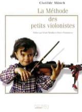 La méthode des petits violonistes Clotilde Münch laflutedepan.com