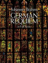 Johannes Brahms - German Requiem - Full Score - Partition - di-arezzo.fr
