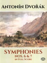 DVORAK - Symphonies N ° 6 and 7 - Full Score - Sheet Music - di-arezzo.com