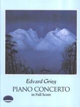 Piano Concerto Op. 16 Edvard Grieg Partition laflutedepan.com
