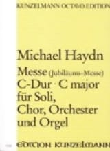 Michael Haydn - Messe C-Dur (Jubiläums-Messe) – Partitur - Partition - di-arezzo.fr