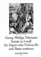 TELEMANN - Sonate En Fa Min. - Partition - di-arezzo.fr