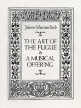 BACH - The Art of the Fugue and A Musical Offering - Full Score - Sheet Music - di-arezzo.co.uk