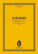 Symphonie Nr. 3 D-Dur SCHUBERT Partition laflutedepan.com